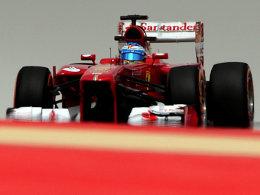 Starker Ferrari: Fernando Alonso lag im letzten Training vorn.