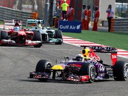 Hält die Konkurrenz in Schach: Sebastian Vettel.