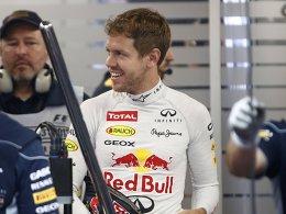 Freut sich über seine dritte Pole Position in dieser Saison: Sebastian Vettel.