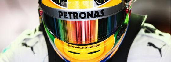 Hatte die Nase im Qualifying vorne: Lewis Hamilton.