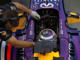 Alles bereit für die Jagd auf de Pole? Sebastian Vettel fuhr im dritten Training Bestzeit.