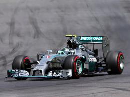 Dritter Saisonsieg: Mercedes-Pilot Nico Rosberg baut seine Führung in der Gesamtwertung aus.