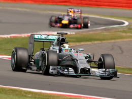 Heimsieg: Mercedes-Pilot Lewis Hamilton triumphierte in Silverstone.