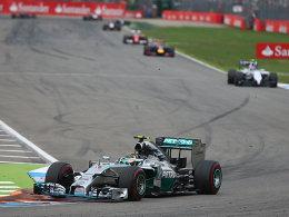 Mercedes-Fahrer Nico Rosberg
