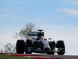 Lewis Hamilton war in Austin/Texas von niemandem aufzuhalten.