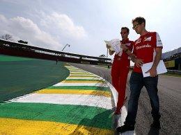 Rosberg f�hrt Tagesbestzeit - Vettel hinter den Mercedes