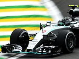 Rosberg vor Vettel - Hamilton ist der Schnellste