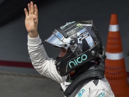 Rosberg holt f�nfte Pole in Folge