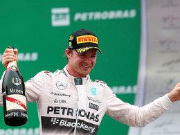 Rosberg siegt und ist Vize-Weltmeister