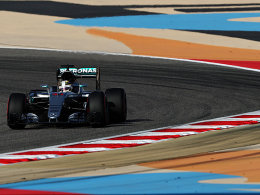 Hamilton l�sst Rosberg und Vettel hinter sich