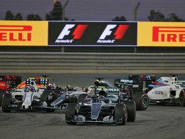 Rosberg gewinnt erneut, R�ikk�nen klar dahinter