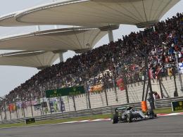 Rosberg gewinnt in China - Vettel Zweiter