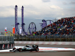 Rosberg holt Sochi-Pole - Hamilton im Pech
