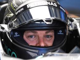 Rosberg distanziert R�ikk�nen und Hamilton