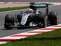 Hamilton vor Rosberg - Vettel nur auf sechs