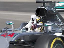 Hamilton auch im zweiten Training Schnellster