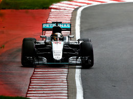 Hamilton in Montreal auf Pole vor Rosberg
