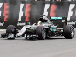Erste Baku-Bestzeit f�r Hamilton - Vettel auf P5