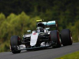 Rosberg dominiert den ersten Dreh in Spielberg