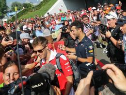 Vettel holt Bestzeit - Rosberg fünf Plätze zurückversetzt