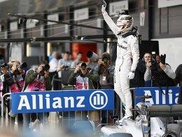 Cooler Brite: Pole f�r Hamilton beim Heimspiel