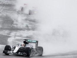 Heimsieg f�r Hamilton - Strafe kostet Rosberg Rang zwei