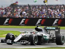 Bestzeit von Hamilton vor Rosberg, Vettel Dritter