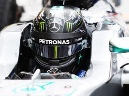 Rosberg Schnellster, Hamilton im Reifenstapel