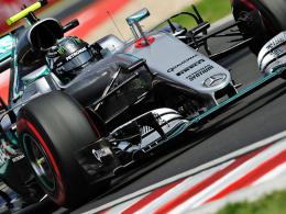 Rosberg knapp vor Verstappen