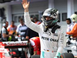 Rosberg bangt im Chaos - Vettel �rgert sich