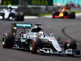 Hamilton ist nun Rekordsieger in Budapest