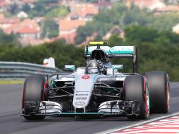 LIVE! Hamilton und Rosberg bleiben an der Spitze