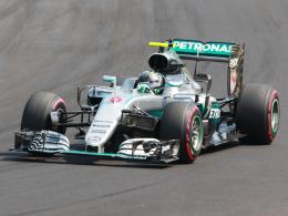 Rosberg distanziert Hamilton und Vettel