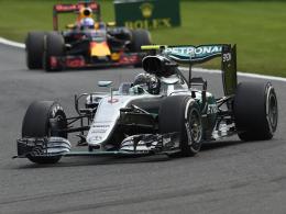 Rosberg triumphiert im Chaos von Spa
