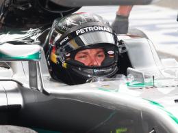 LIVE! Rosberg f�hrt vor Ricciardo und H�lkenberg