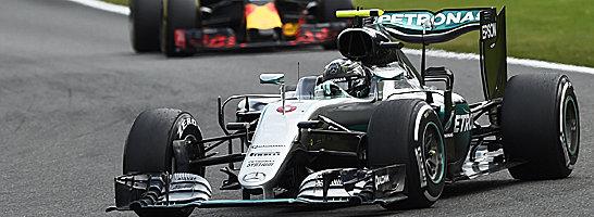 Spa-Sieger: Mercedes-Pilot Nico Rosberg gewann den Grand Prix von Belgien.