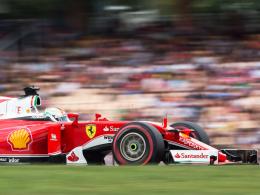 Bestzeit von Rosberg, Vettel Vierter in Monza
