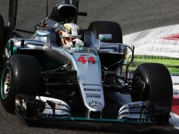 Hamilton dreht den Spieß um, Rosberg Zweiter