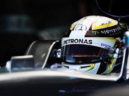 3. Training: Hamilton fährt Bestzeit