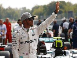 Lewis Hamilton dominiert das Qualifying