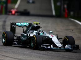 Rosberg nutzt schweren Hamilton-Patzer