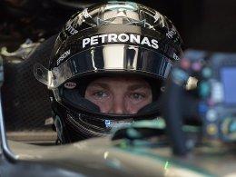 Rosberg nach Crash Schnellster
