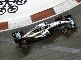 Hamilton unkonzentriert - Rosberg souverän