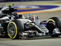 Rosberg startet in Singapur von der Pole