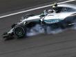 Trotz eines Verbremsers Erster: Mercedes-Pilot Nico Rosberg.