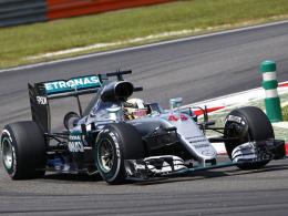 Hamilton schlägt Rosberg, Vettel Dritter