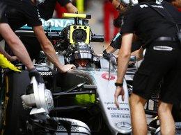 Rosberg: Erst Qualm, dann Bestzeit