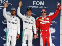 Pole! Rosberg einen Wimpernschlag vor Hamilton