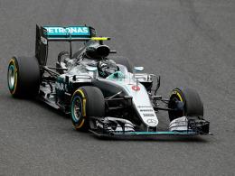 Erstes Duell: Hamilton schlägt Rosberg