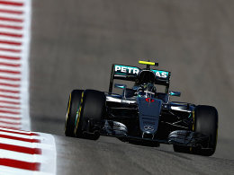 Rosberg zeigt Stärke - Hamilton nur Dritter